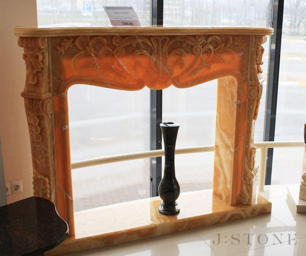 Портал для камина в стиле барокко
