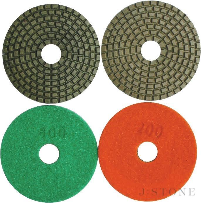 Шлифовальный круг Черепашка гибкая Ø100 мм