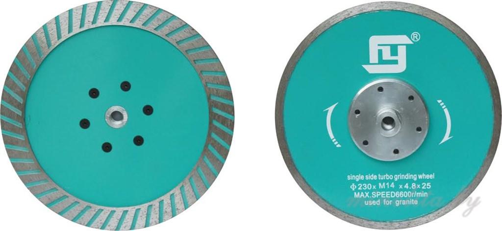 Сухорез для гранита Ø125 мм с фланцем